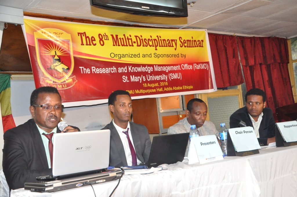 Annual Multi-disciplinary Research Seminar